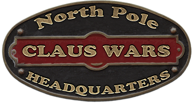 Claus Wars Logo