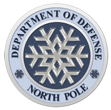 North Pole Dept of Defense Seal