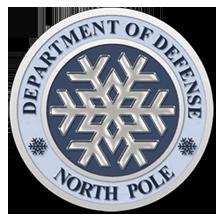 North Pole Dept of Defense Seal